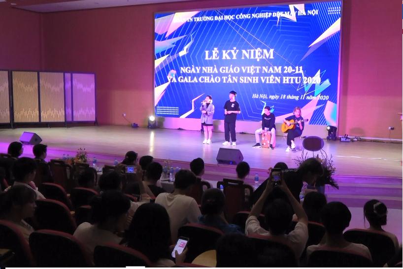 Lễ kỷ niệm Ngày nhà giáo Việt Nam 20-11 và Gala chào tân sinh viên HTU 2020