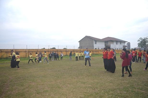 Khai mạc giải thi đấu thể thao dành cho cá bộ CNVC-LĐ trường Đại học Công nghiệp Dệt may Hà Nội