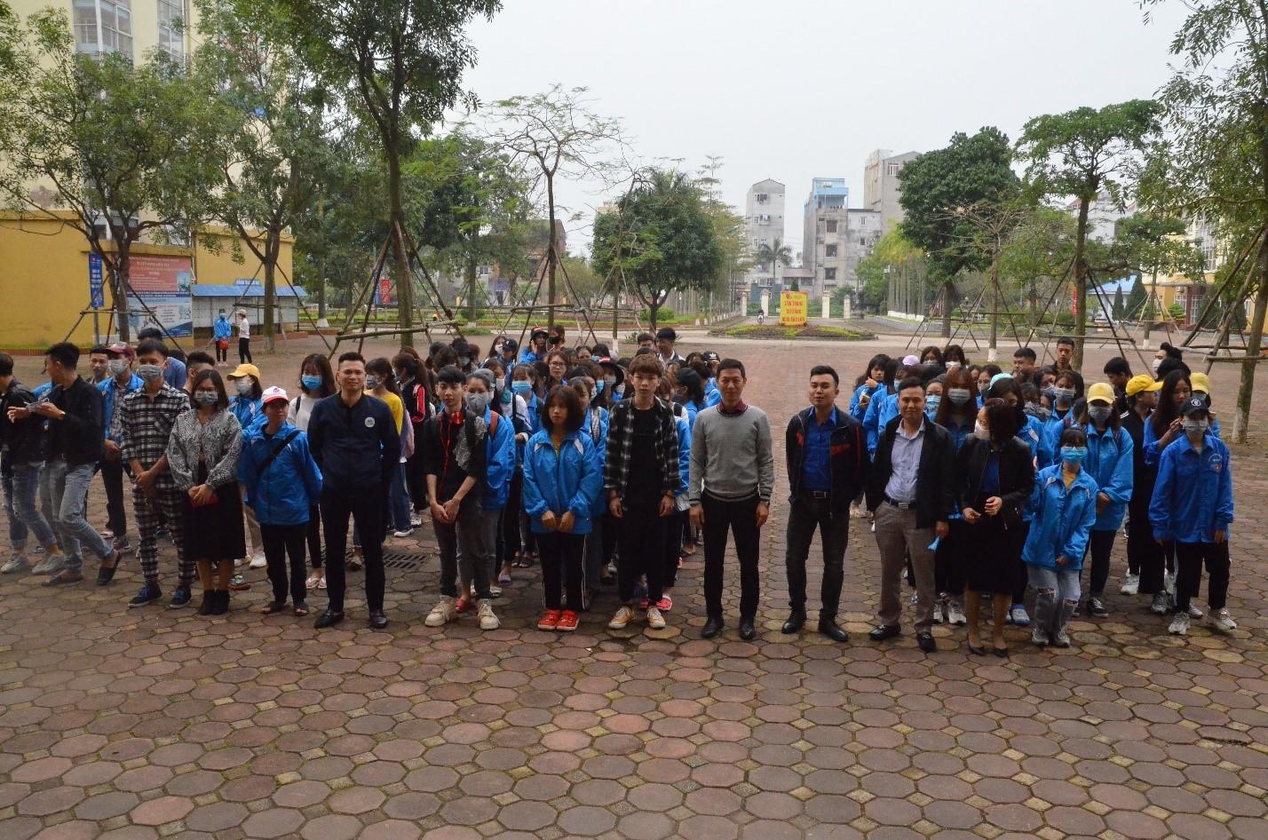 Đoàn thanh niên HTU ra quân tháng thanh niên 2020 -  phòng chống dịch Covid - 19
