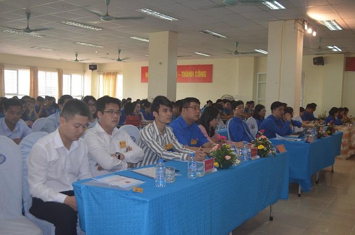 Đại hội đại biểu đoàn THCS Hỗ Chí Minh Trường Đại học Công nghiệp Dệt May Hà Nội lần Thứu XIX, nhiệm kỳ 2017 - 2018