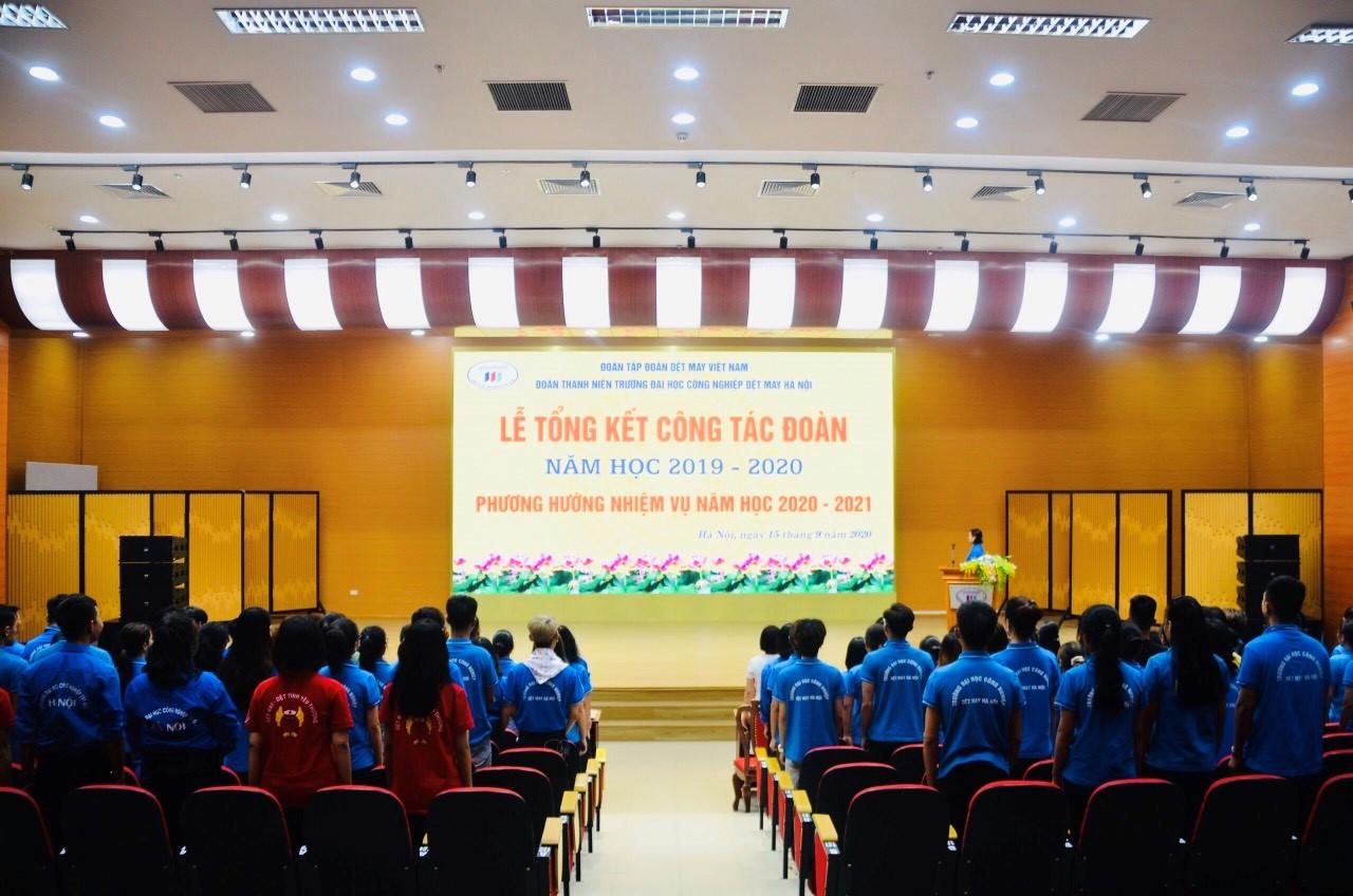 Hội nghị tổng kết công tác Đoàn năm học 2019-2020 và triển khai chương trình hoạt động Đoàn năm học 2020-2021