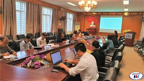 Hội nghị rút kinh nghiệm công tác giảng dạy E-learning