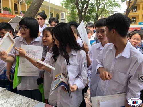 Trường Đại học Công nghiệp Dệt May Hà Nội sử dụng kết quả thi tốt nghiệp THPT để xét tuyển
