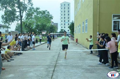 Giải chạy tiếp sức HTU năm 2021
