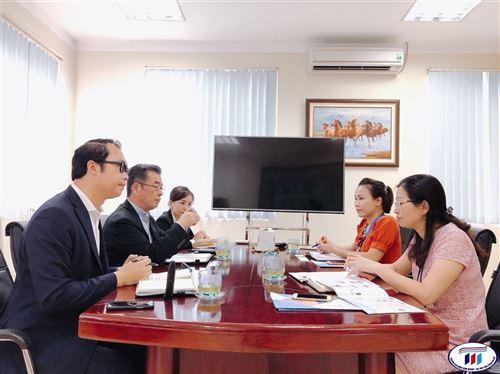 Trường Đại học Công nghiệp Dệt May Hà Nội làm việc với Tập đoàn Avance Holdings, Nhật Bản