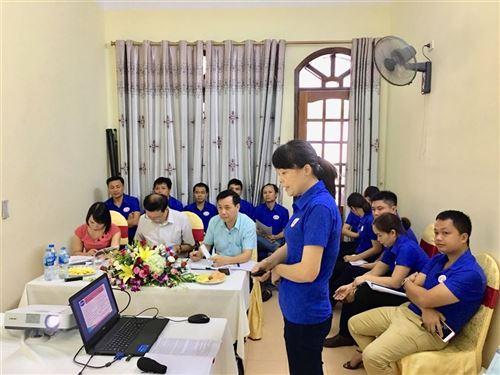 Lớp Giám đốc xí nghiệp Dệt May khóa 6 bảo vệ chương trình hành động