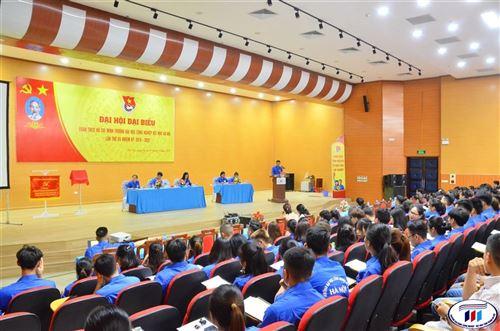 Đại hội Đại biểu Đoàn TNCS Hồ Chí Minh trường Đại học Công nghiệp Dệt May Hà Nội lần thứ XX nhiệm kỳ 2019-2022