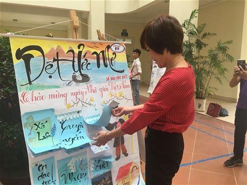 Rộn ràng chào đón ngày Hiến chương Nhà giáo Việt Nam
