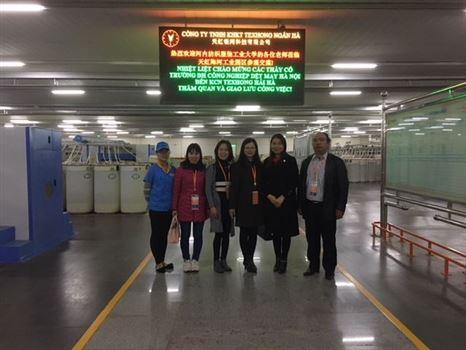 Đại học Công nghiệp Dệt May Hà Nội tìm cơ hội hợp tác với doanh nghiệp Sợi, Dệt