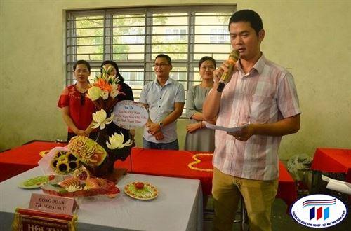 Rực rỡ sắc màu Hội thi cắt tỉa rau, củ, quả nghệ thuật chào mừng ngày phụ nữ Việt Nam – Trường Đại học Công nghiệp Dệt May Hà Nội