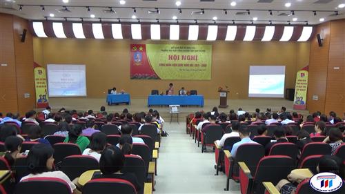 Hội nghị công nhân viên chức năm học 2019- 2020 của trường Đại học Công nghiệp Dệt May Hà Nội.