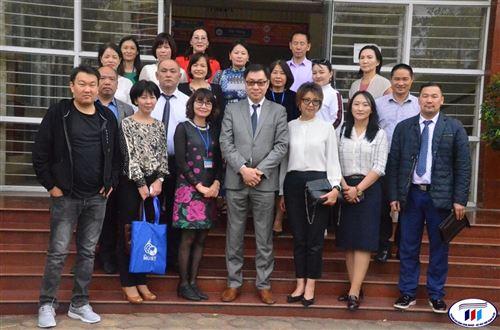 Trường Đại học Công nghiệp Dệt May Hà Nội được chọn là nơi học tập cho sinh viên Mông Cổ