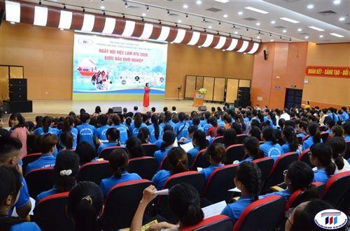 Ngày hội việc làm HTU 2020 – Bước đầu khởi nghiệp