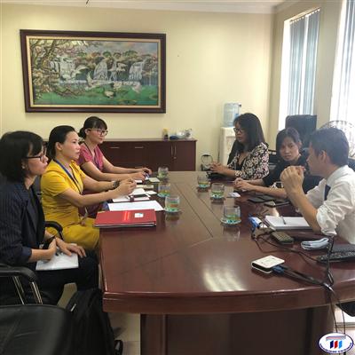 Tập đoàn Toray, Nhật Bản đặt quan hệ hợp tác với trường Đại học Công nghiệp Dệt May Hà Nội