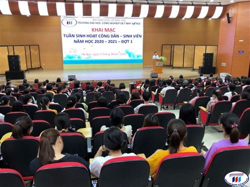 Khai mạc tuần sinh hoạt công dân - sinh viên đợt 1 năm học 2020-2021