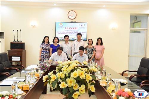 Ký kết hợp tác giữa Trường Đại học Công nghiệp Dệt may Hà Nội và Công đoàn Dệt may Việt Nam