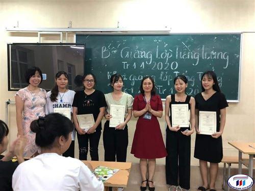 Bế giảng lớp tiếng Trung Tr1.1-2020 và khai giảng lớp tiếng Trung Tr1.2-2020, Tr1.3-2020.