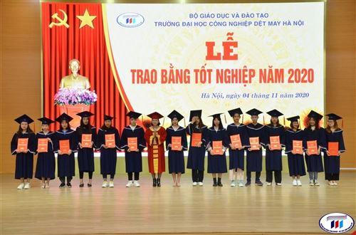 Lễ trao bằng tốt nghiệp trình độ Cao đẳng