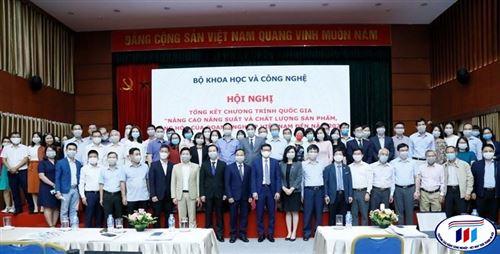 Hội nghị Tổng kết chương trình quốc gia về nâng cao năng suất chất lượng giai đoạn 2010-2020
