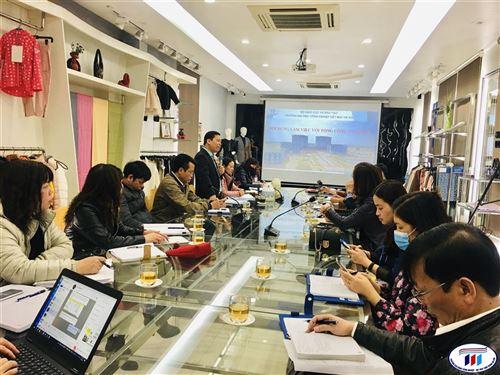 Đẩy mạnh hợp tác giữa trường Đại học Công nghiệp Dệt May Hà Nội và Tổng công ty may 10-Công ty cổ phần