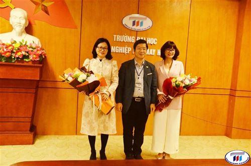 Trường Đại học Công nghiệp Dệt May Hà Nội chúc mừng ngày Quốc tế phụ nữ 08/3