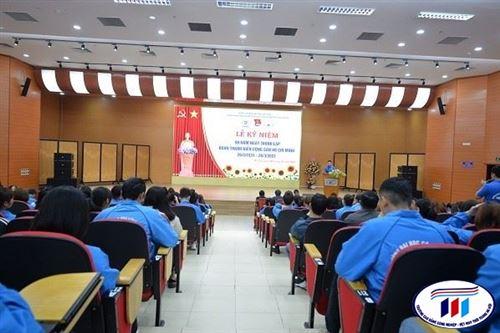Đoàn Thanh niên trường Đại học Công nghiệp Dệt May Hà Nội mít tinh kỷ niệm 90 năm ngày thành lập Đoàn TNCS Hồ Chí Minh