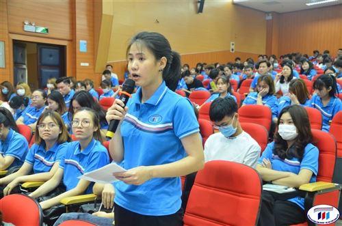 Hội nghị đối thoại sinh viên với lãnh đạo nhà trường năm học 2020-2021