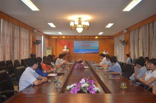 Khai giảng lớp Giám đốc xí nghiệp Dệt may thành viên khóa 5 (đợt 2) năm 2018