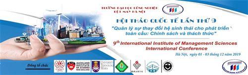 Trường Đại học Công nghiệp Dệt May Hà Nội đã sẵn sàng cho Hội thảo Quốc tế lần thứ 9