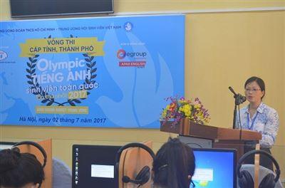 Khai mạc Hội thi Olympic tiếng Anh sinh viên toàn quốc lần thứ nhất – vòng thi Khối Doanh nghiệp Trung ương