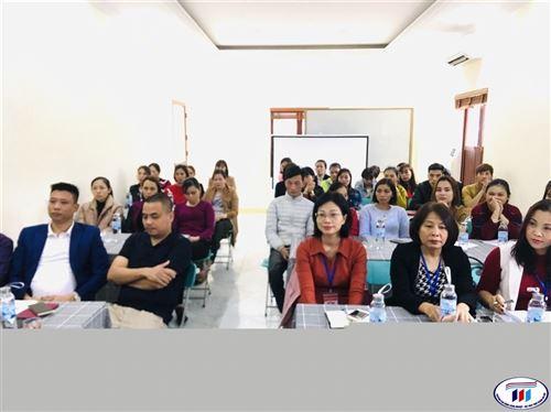 Khai giảng lớp Cán bộ kỹ thuật chuyền ngành may