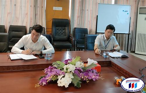 Họp quy hoạch cán bộ nguồn giai đoạn 2021-2026 và sơ kết học kỳ 1 năm học 2020-2021