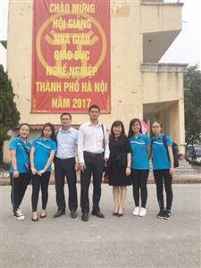 Hội giảng Nhà giáo giáo dục nghề nghiệp Thành phố Hà Nội năm học 2017-2018