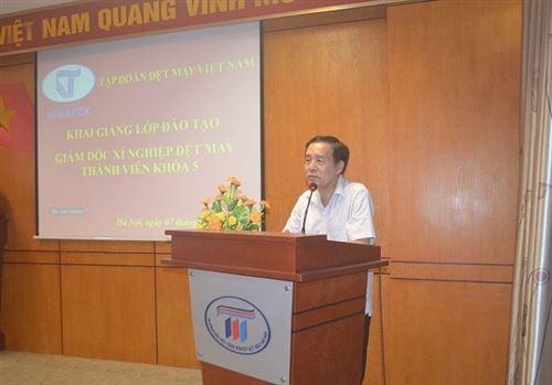 Khai giảng lớp Giám đốc xí nghiệp Dệt may thành viên khóa 5 năm 2018