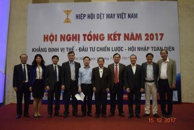 Hội nghị Tổng kết Hiệp hội Dệt May Việt Nam năm 2017