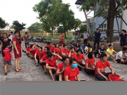 Cán bộ, giảng viên Trung tâm THM tham gia thi đấu thể thao chào mừng ngày Giải phóng miền nam 30/4, ngày Quốc tế lao động 1/5 và 128 năm ngày sinh chủ tịch Hồ Chí Minh