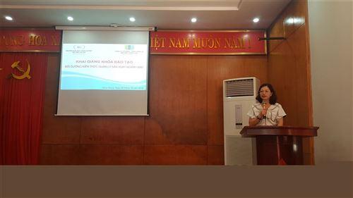 Khai giảng lớp Bồi dưỡng kiến thức quản lý sản xuất ngành may tại Công ty cổ phần- Tổng Công ty May Bắc Giang LGG