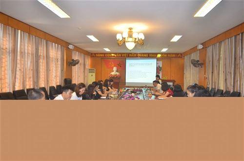 Hội thảo phổ biến kết quả đề tài nghiên cứu khoa học