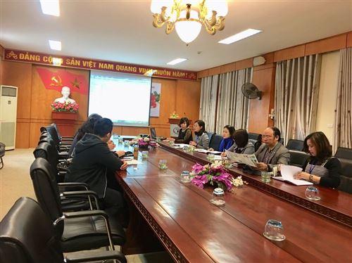 Tiếp đón đoàn công tác trường Đại học Công nghệ Thái Nguyên - Trung Quốc
