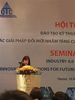 Hội thảo Đào tạo kỹ thuật và CMCN 4.0: Các giải pháp thay đổi nhằm tăng cường năng suất trong tương lai.