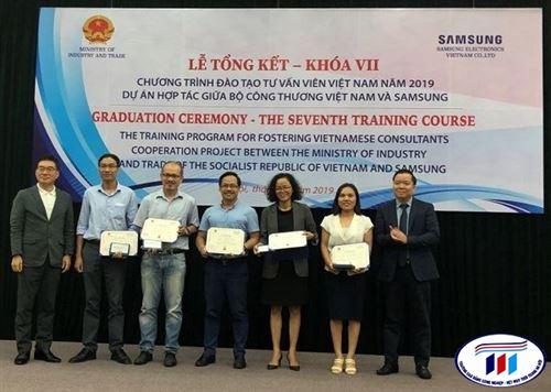 Lễ tổng kết khóa VII - chương trình đào tạo tư vấn viên Việt Nam 2019