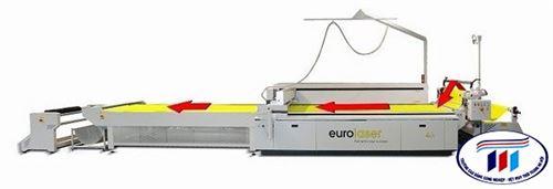 Máy cắt Laser cho vải lọc tại triểm lãm Filtech 2019