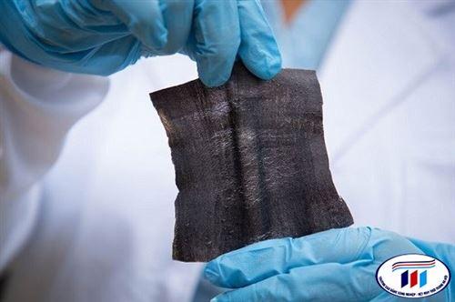 Công nghệ in laser giúp tạo ra vải điện tử chống nước trong nháy mắt