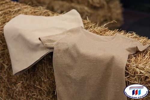 Fortum and Spinnova ra mắt quần áo làm từ rơm lúa mì
