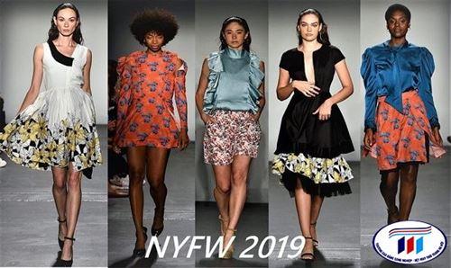 Hãng máy in vải kỹ thuật số Colorjet trình diễn thời trang bền vững tại tuần lễ thời trang New York 2019