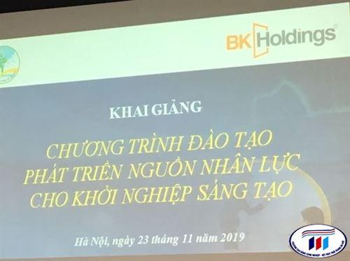 Giảng viên khoa Kinh tế tham gia tập huấn lớp Mentor tại BK- Holdings