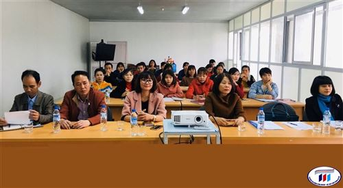 Công ty Cổ phần May Sông Hồng-Phú Thọ tiếp tục chọn trường Đại học Công nghiệp Dệt May Hà Nội đào tạo nhân lực