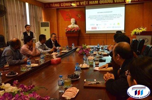 """Trường Đại học Công nghiệp Dệt May Hà Nội tổ chức Workshop """"Education Fit for the Future"""""""
