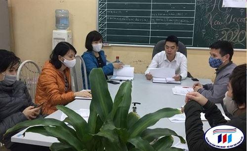 Triển khai nhiệm vụ ban thư ký Hội đồng tự đánh giá sau rà soát kế hoạch hành động tại trường Đại học Công nghiệp Dệt May Hà Nội