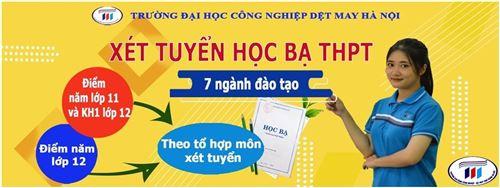 HTU bổ sung phương thức xét học bạ năm lớp 11 và HKI lớp 12